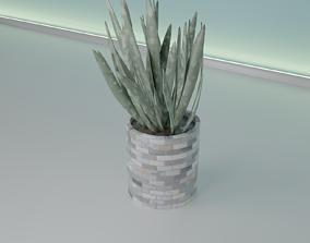 Bricks pot 41 plant 3D print model