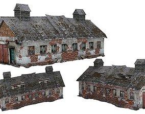 Old house Kolkhoz 02 02 3D asset