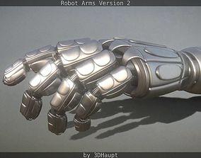 3D Robotarms version 2 rigged