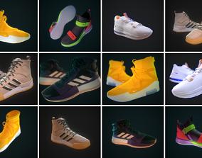 PBR Sneakers - PROMOTION 3D model