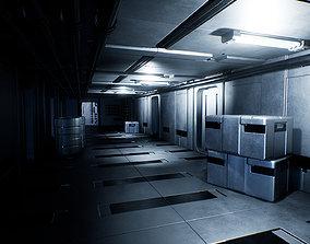 3D model Sci-Fi Interior Pack