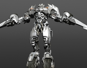 VR / AR ready Transformers - Autobot - Sideswipe 3D model