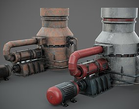 3D model Industrial device