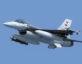 3D model F16C Turkey