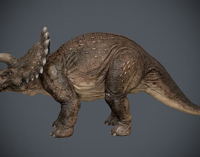 3D Triceratops-maya