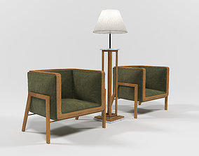 1507 Furniture set 3D