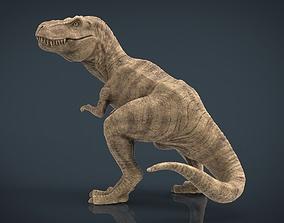 Tyranossaurus Rex sculpture 3D asset