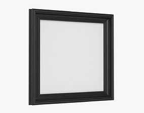 Frame square with picture 02 3D model PBR