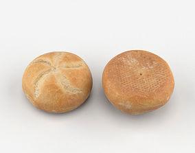 3D model Bun Breadroll
