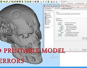 figurines Skull 3D print model