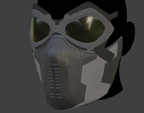 Winter Soldier Mask 3D printable model