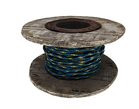 Rope Rol 02 3D model