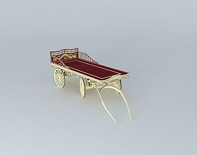 Burton Flatbed Tinker's Wagon 3D model