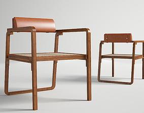 Oria Hermes low armchair 3D model