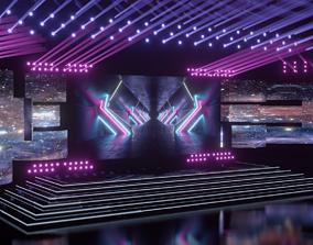 3D interior stage