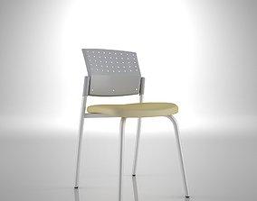 Ergonomic Chair Axa 3D model