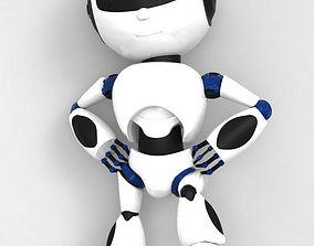 3D printable model Robot print