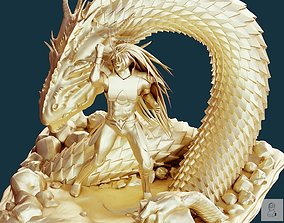 DRAGON SHIRYU 3D MODEL PRINT