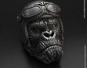 3D printable model biker monkey vol1 Pendant jewelry