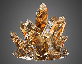 3D animated Crystal