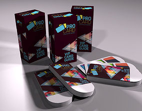 3D model game-ready Card Catalog