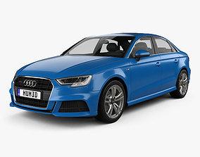Audi A3 S-Line 2016 3D