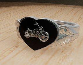 Heart biker 3D printable model