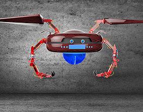 Hover Crab Robot 3D model