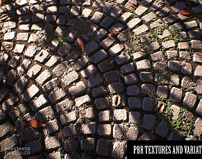 Detailed stone PBR TEXTURES 3denvironments 3D model