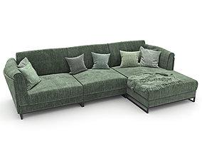 3D model 203-Sofa natuzzi armonia2788 3