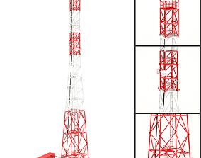 Communication Tower 02 3D