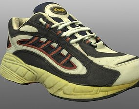 realtime Old sneaker 3D model