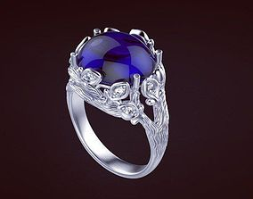 Wood ring 1 3D print model
