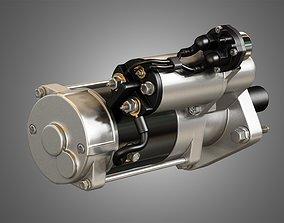 Engine Starter Motor 3D model