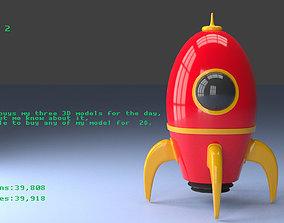 3D model Rocket 2