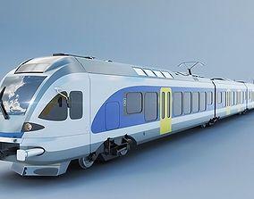 passenger Stadler FLIRT 415 train 3D