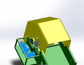 3D model BELT CONVEYOR W105L176