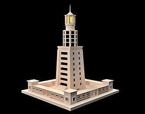 Lighthouse of Alexandria 3D asset