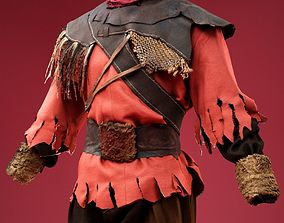 3D model Medieval Creep Costume