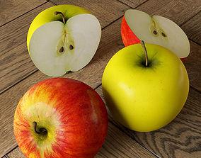 Apples 3D model fruit