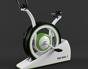 3D model Stationary One Bike