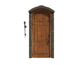 Victorian Door 3D asset VR / AR ready