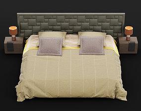 3D model Modern bed 15