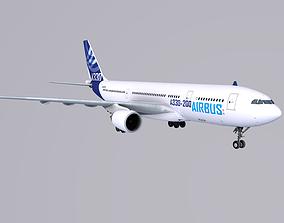 Airbus A 330-200 3D asset