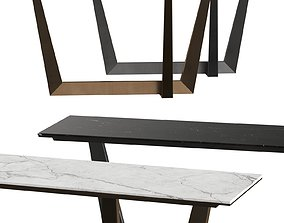 3D model Bonaldo Art Console Table