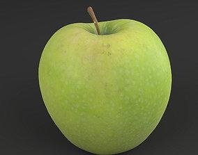 3D model game-ready Apple green 02