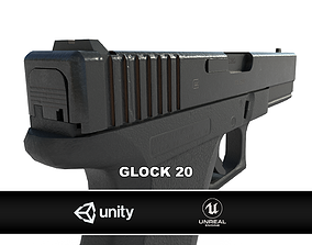 3D model Glock 20 Pistol