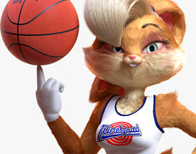 3D asset Lola Bunny Rigged