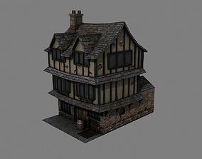 3D asset Tudor House