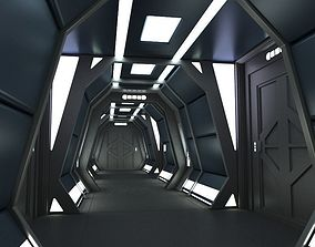 3D Sci Fi Corridor C